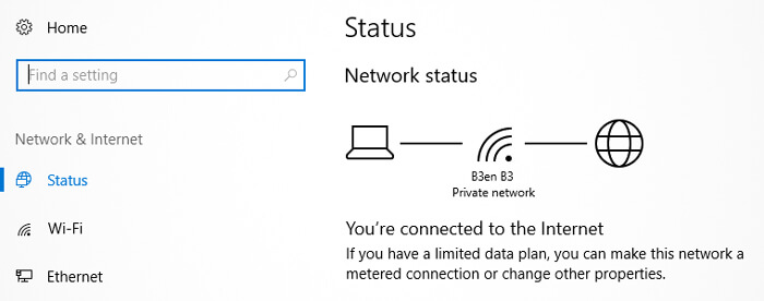 connect the router to your modem computer