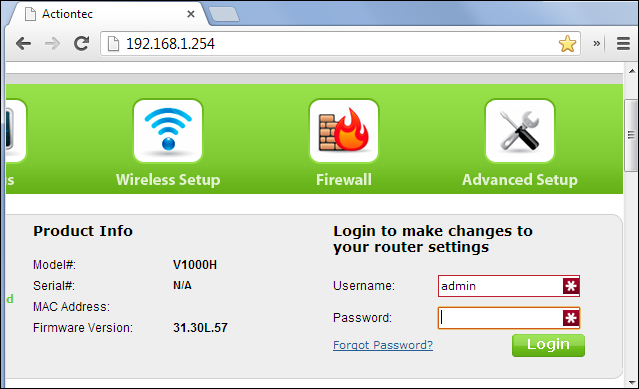 Router network interface