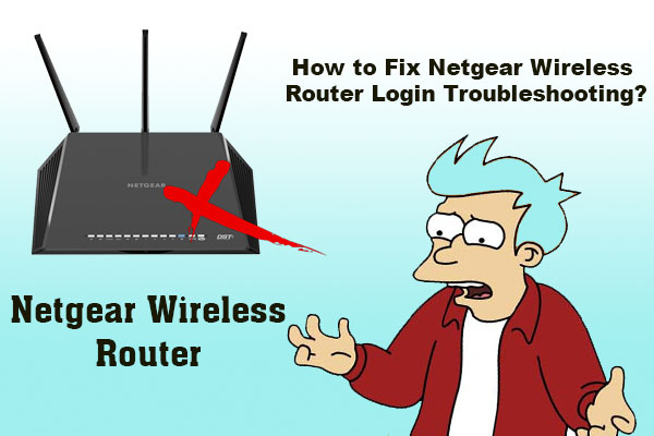 Fix Netgear Wireless Router Login
