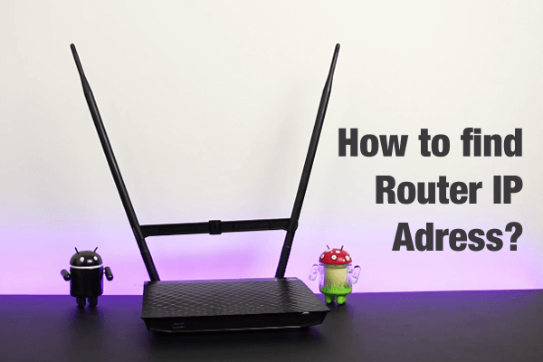 how to find router ip