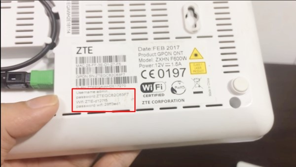 change your router's username and password step 1