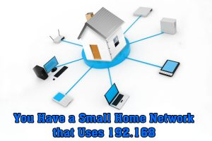 small home network 192.168