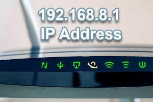 192.168.8.1 ip address