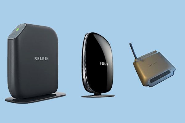 There are many models of router from Belkin