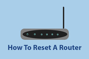 reset a router
