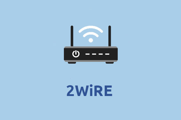 2 Wire router setup
