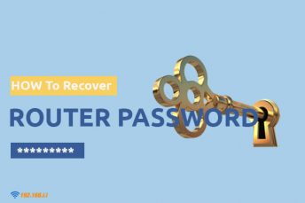 how to recover password