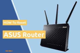 how to reset asus router