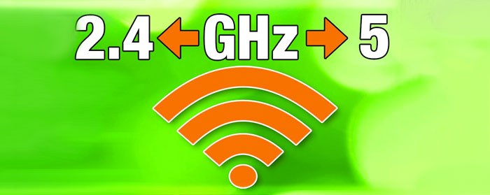 2.4 and 5.0 GHz extended network