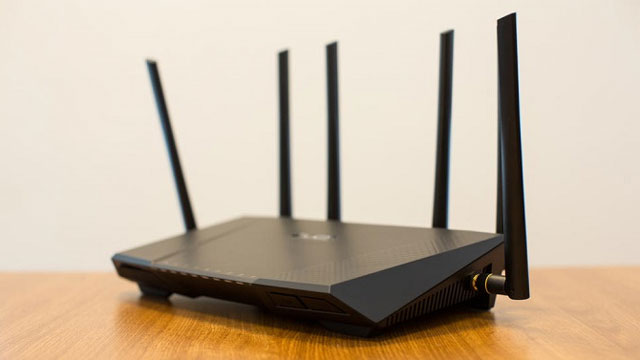 An Asus RT-AC3200 router