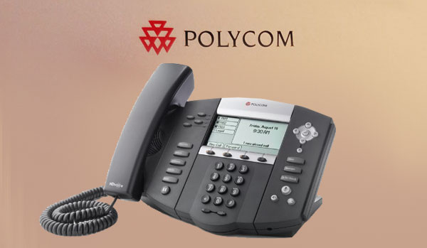 polycom default password