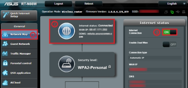 Reconnect to your ISP via administrative Interface