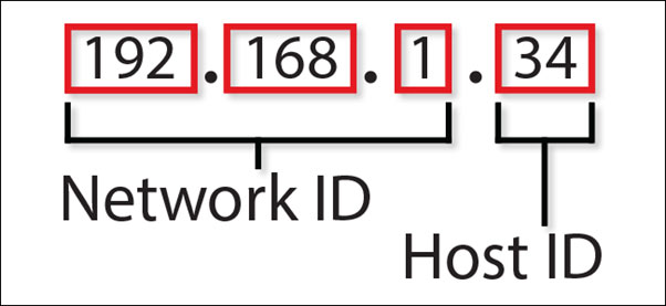 What can be inferred from an IP address