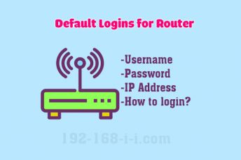 Find router login admin at 192-168-i-i