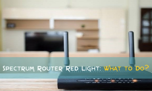 What Does the Spectrum Router Red Light Indicate